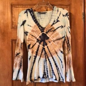 Tops - Pyramid Collection Tie-dyed hoodie